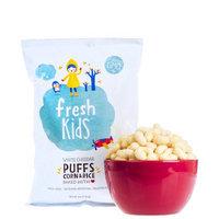 Fresh Kids White Cheddar Puffs Corn & Rice, 4 oz