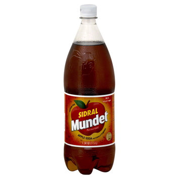 Sidral Mundet Soda, Apple, 1.58 qt (1.5 lt)