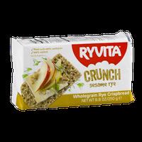 Ryvita Wholegrain Rye Crispbread Crunch Sesame Rye