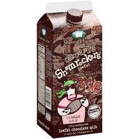 Shamrock Farms: Chocolate Lowfat Shamrockers Chocolate Milk, .5 Gal