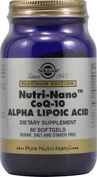 Solgar Nutri-Nano CoQ-10 Alpha Lipoic Acid