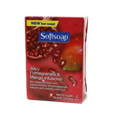 Softsoap® Juicy Pomegranate and Mango Infusions Bar Soap