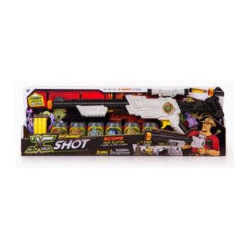 DOLLAR GENERAL X-Shot Zombie Scope Toy Dart Gun Set