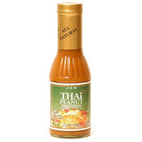 JES Thai Style Peanut Dressing, 11.5-Ounce Bottle (Pack of 3)