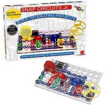 Elenco Electronics Snap Circuits Junior Edition Ages 8+