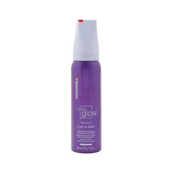 Goldwell Color Glow Mousse Live Blonde 3.4 oz