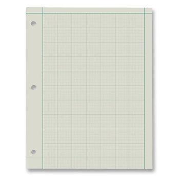 Boorum & Pease ESS22144 - Ampad Green Tint Engineer Pads