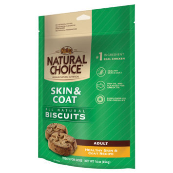 Nutro Natural Choice NUTROA NATURAL CHOICEA Skin & Coat Adult Dog Biscuit