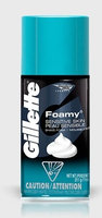 Gillette Foamy Sensitive Skin Shaving Foam