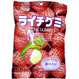 Kasugai Lychee Gummy Candies
