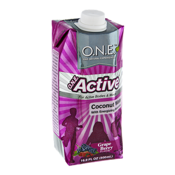 O.N.E. Active Grape Berry Coconut Water