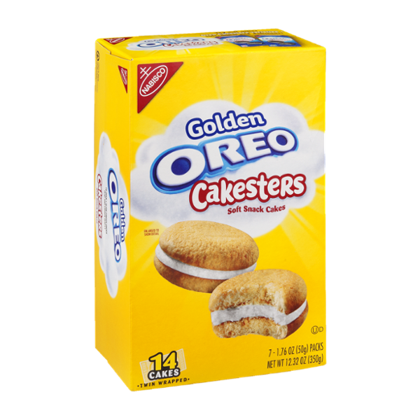 Nabisco Golden Oreo Cakesters Soft Snack Cakes