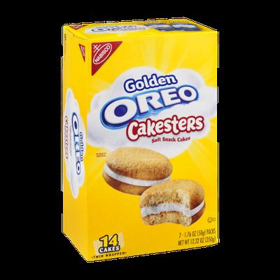 Nabisco Golden Oreo Cakesters Soft Snack Cakes
