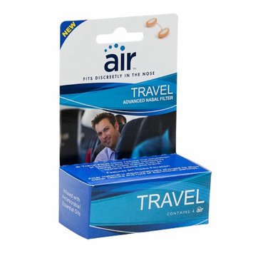 air TRAVEL - Advanced Nasal Filter with Filtration Media from 3M
