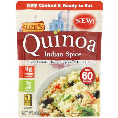 Suzies Suzie's Indian Spice Quinoa, 8 oz, (Pack of 10)