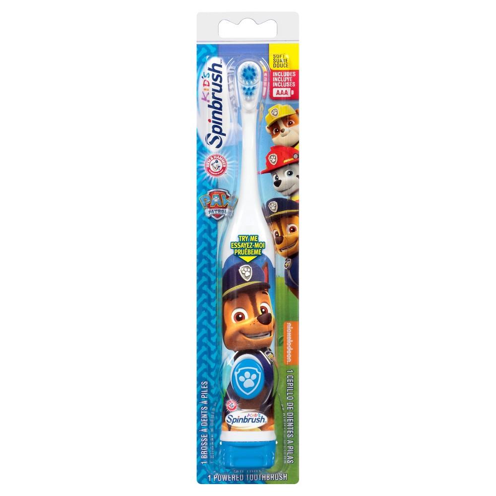 Arm and Hammer Spinbrush Kids Paw Patrol Battery Toothbrush