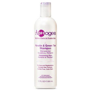 ApHogee Keratin & Green Tea Shampoo - 12 oz