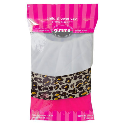 Gimme Clips Shower Caps - 3pc
