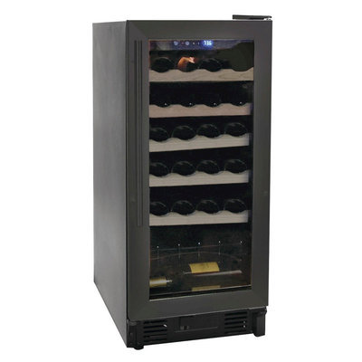HAIER 26 BOTTLE WINE CELLAR APPLBLACK