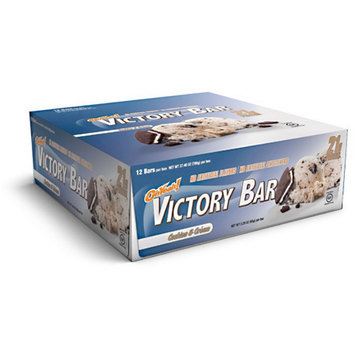 ISS Oh Yeah! Victory Cookies & Creme - 12 Bars - 2.29 oz (65 g) per Bar
