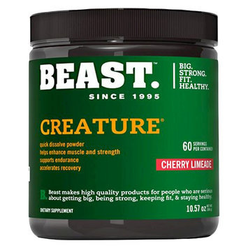 Beast Sports Nutrition, Creature Cherry Limeade 60 Servings