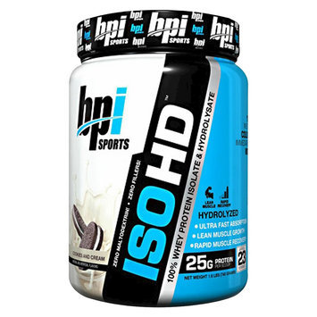 BPI Iso-HD Cookies and Cream - 23 Servings