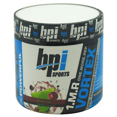 BPI Sports 1.M.R. Vortex Pre-Workout Powder, Cherry Lime, 5.3 Ounce