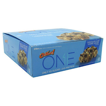 ISS OhYeah! One Chocolate Chip Cookie Dough - 12 - 2.12 OZ Bars