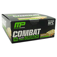 Muscle Pharm Combat Crunch, Cinnamon Twist, 12 Count