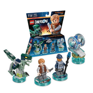 Warner Brothers LEGO Dimensions - Team Pack - Jurassic World (71205)