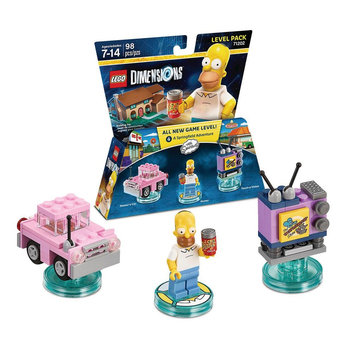 Warner Brothers LEGO Dimensions - Level Pack - The Simpsons (71202)