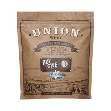 Union Protein Organic Dark Vanilla Whey Isolate Protein Powder - 1lb