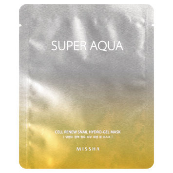 Missha - Super Aqua Cell Renew Snail Hydro-Gel Mask 5 pcs