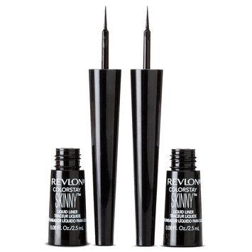 Revlon ColorStay Skinny Liquid Liner 2 Pack in 301 Black Out - .16 floz