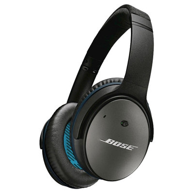 Bose - Quietcomfort 25 Acoustic Noise Cancelling Headphones - Black