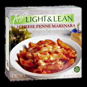 Amy's Light & Lean 3 Cheese Penne Marinara Frozen Entree