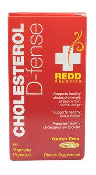 Redd Remedies Cholesterol D-fense 60 Vegetarian Capsules