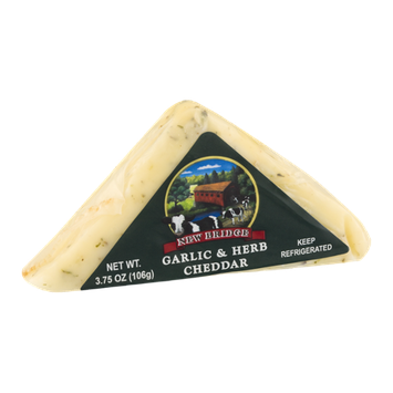 New Bridge Cheddar Cheese Garlic & Herb