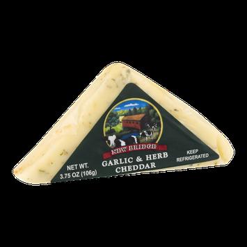New Bridge Cheddar Cheese Garlic & Herb