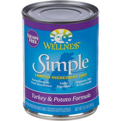 Wellness Simple Turkey & Potato Formula - 12 x 12.5 oz