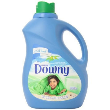 Downy Ultra Fabric Softener Mountain Spring Liquid 105 Loads, 90-Ounce