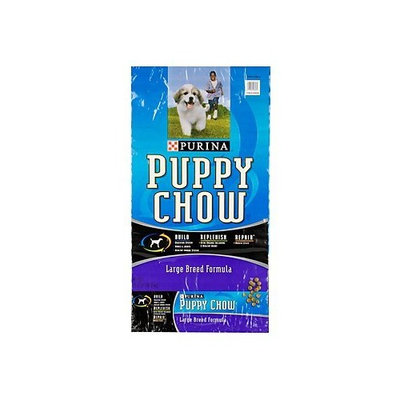 Puppy Chow Large Breed Dry Dog Food Size: 32-lb bag