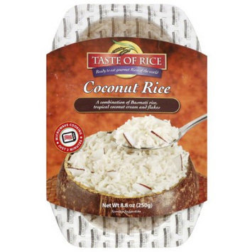 Taste Of India Taste of Rice Coconut Rice, 8.8 oz, (Pack of 6)