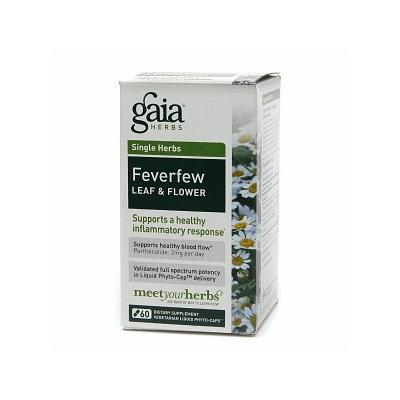 Gaia Herbs Feverfew Leaf & Flower
