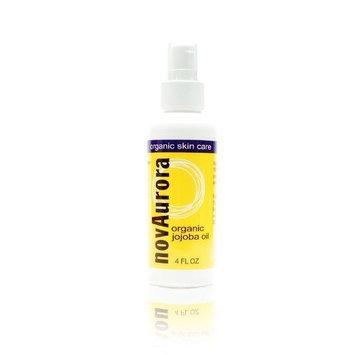 NovAurora Organic Skin Care Novaurora Organic Jojoba Oil, 4 Fl. Oz.
