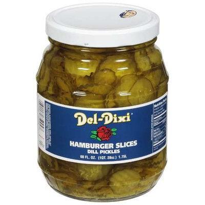 Del-Dixi Pickles Del Dixi: Hamburger Slices Dill Pickles, 60 Oz