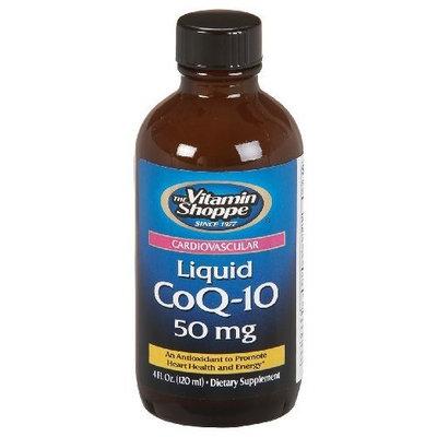 the Vitamin Shoppe - Coq-10 Liquid, 50 mg, 4 fl oz liquid