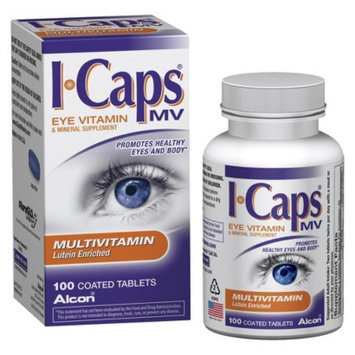 Alcon I-Caps Multivitamin Coated Tablets 100-ct.