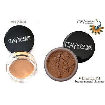 ITAY BEAUTY MINERAL COSMETICS ITAY Beauty Mineral Eye Primer + 100% Natural Eye Shadow Color #3