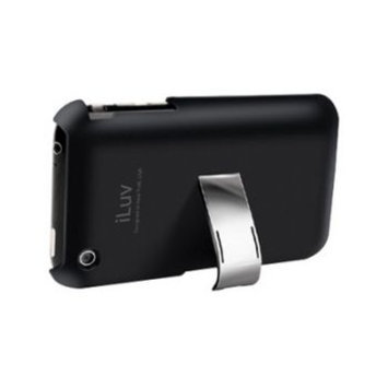 Iluv ILUV ICC79BLK Black Hard Case With Built